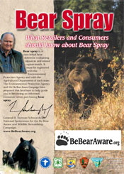 Bear Spray What Retailers and Consumers should know about Bear Spray