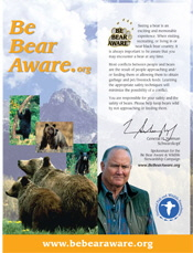 Be Bear Aware (Grizzly Bear)