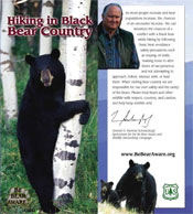 Hiking in Black Bear Country (Black Bear)