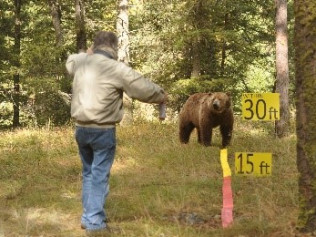 Deploying Bear Spray